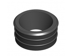 Push fit  pipe rubber adaptor