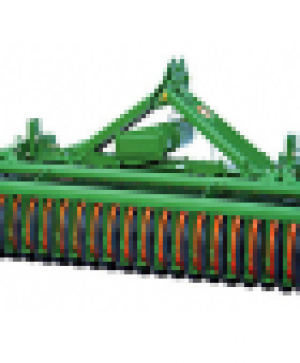 Rubber wheels for disc seeder