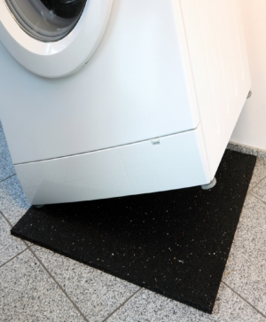 Anti-vibration washing machine mat