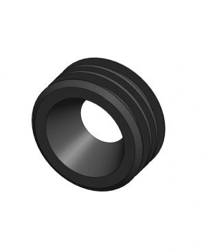 Push fit rubber adaptor 50mm