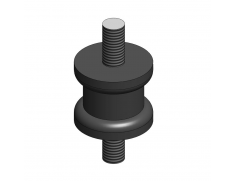 Anti-vibration shock absorber mount